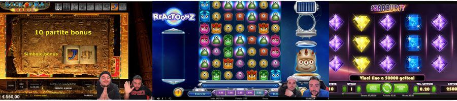 Migliori Slot Online a alta, media e bassa volatilità: Book of Ra Magic, Reactoonz e Starburst