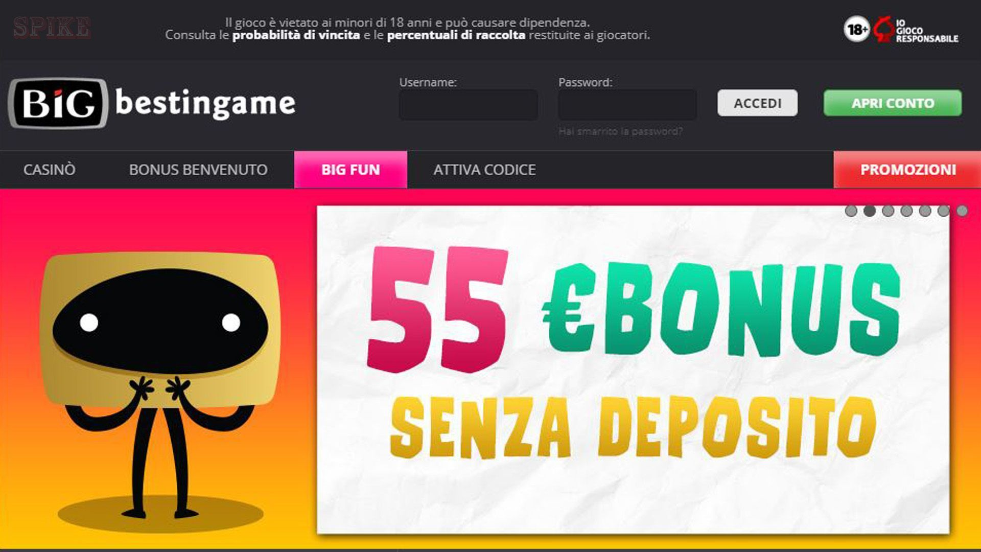 Home Page BiG Casino Online