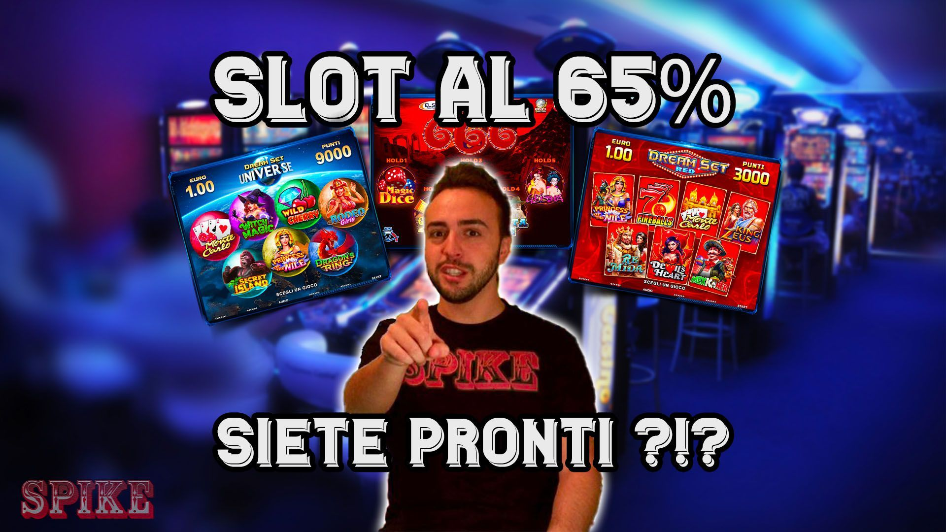 Articolo Payout 65% Slot Machine Bar Logo