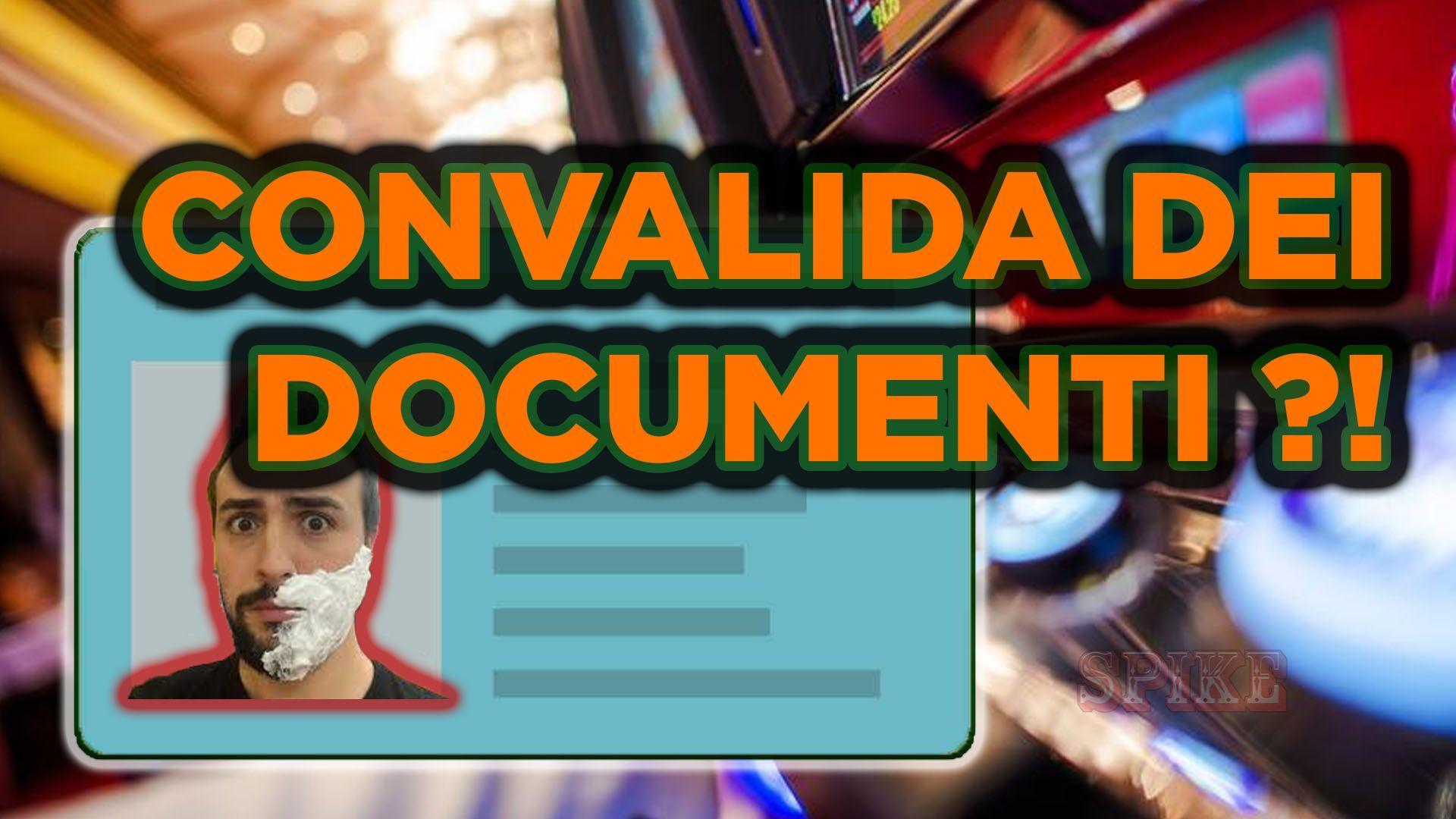 Card Articolo Convalida Documenti