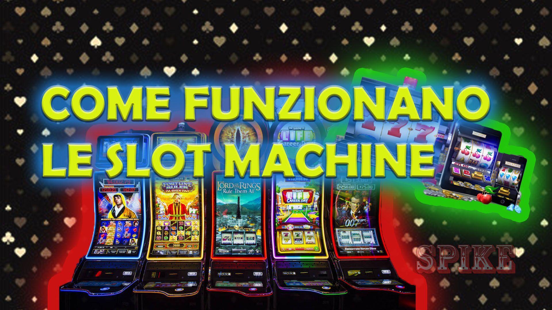 Logo Articolo Come Funzionano Le Slot Machine