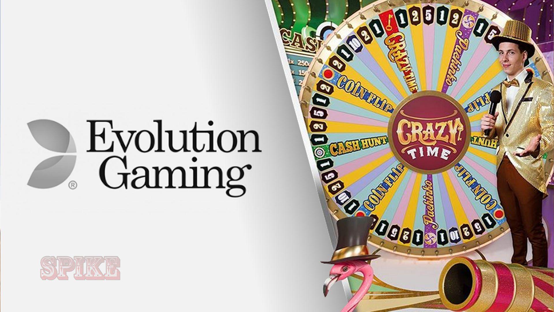 Crazy Time Evolution Gaming Guide Logo