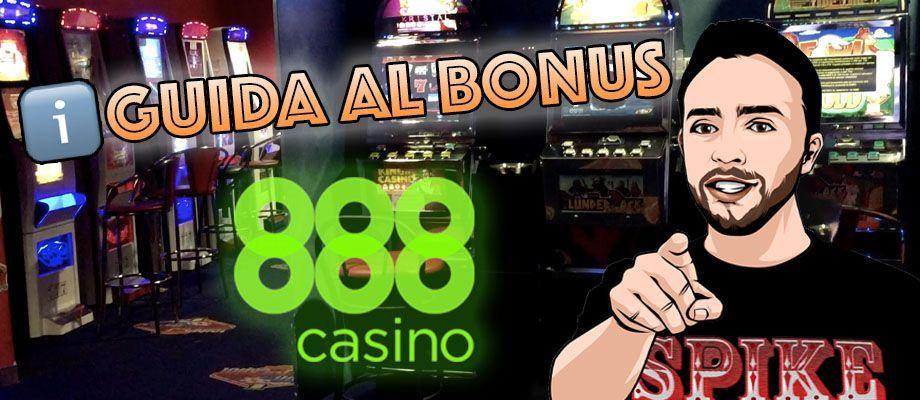 guida bonus benvenuto 888 casino
