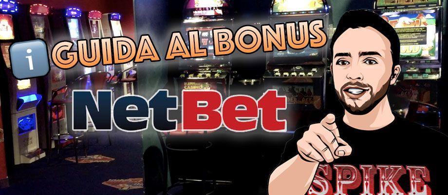 NetBet Casino Guida al Bonus Benvenuto