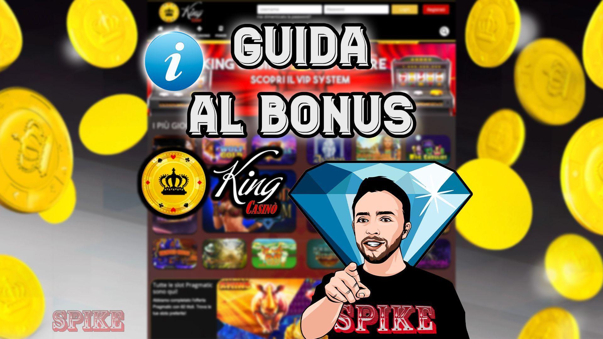 Guida Bonus King Casino Logo