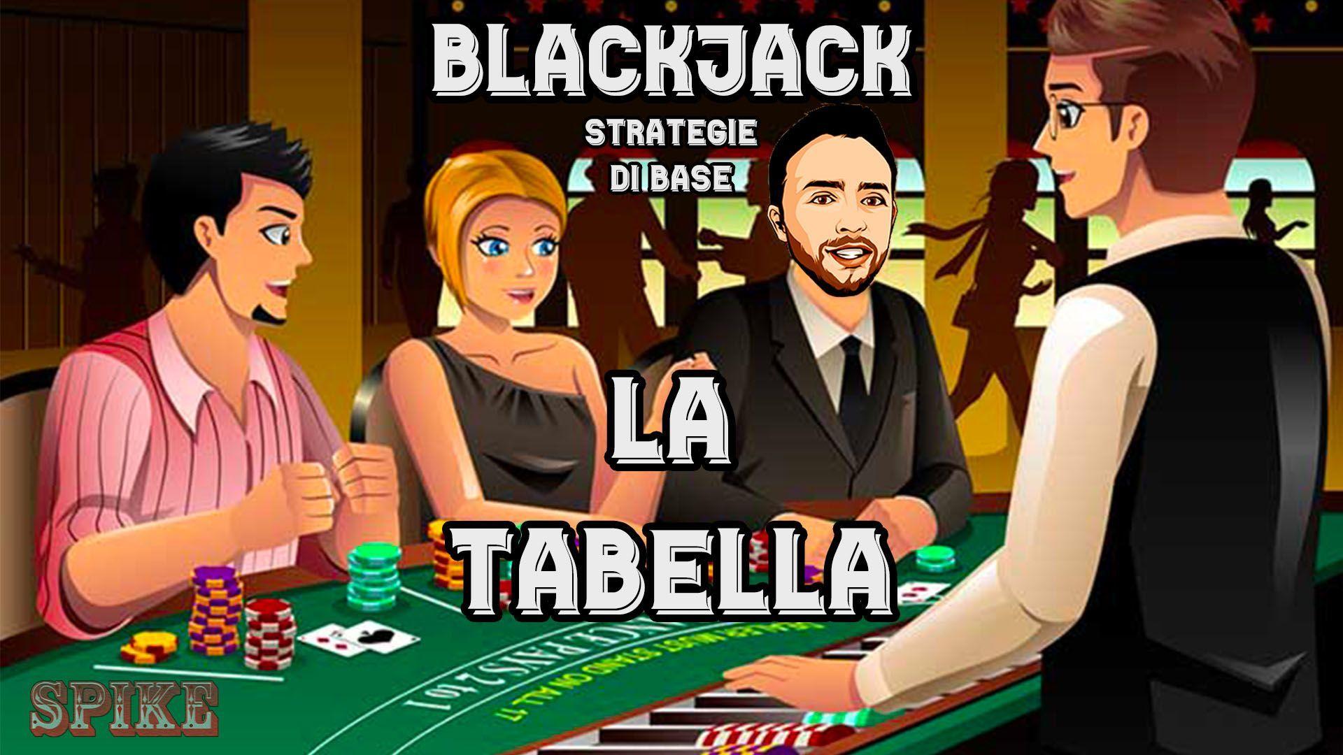 Guida Blackjack Articolo Tabella Logo
