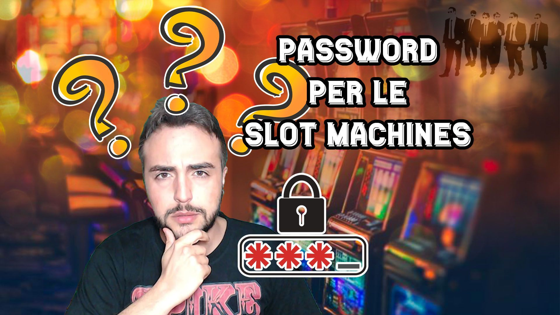 Logo Articolo Password Slot Machine
