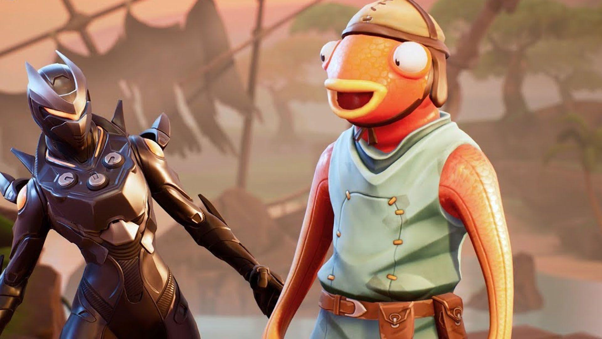 Due Personaggi del Videogioco Fortnite