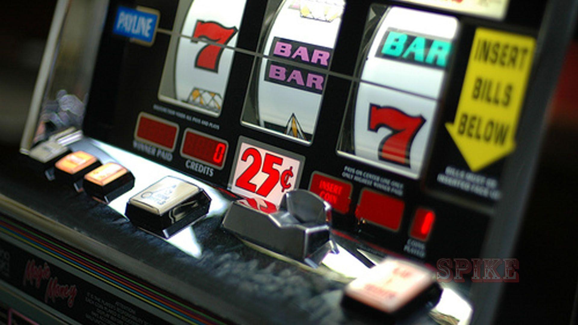 Schermo di una Slot Machine a Monete