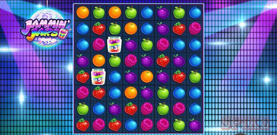 Gameplay della Slot Online Jammin' Jars con Wild