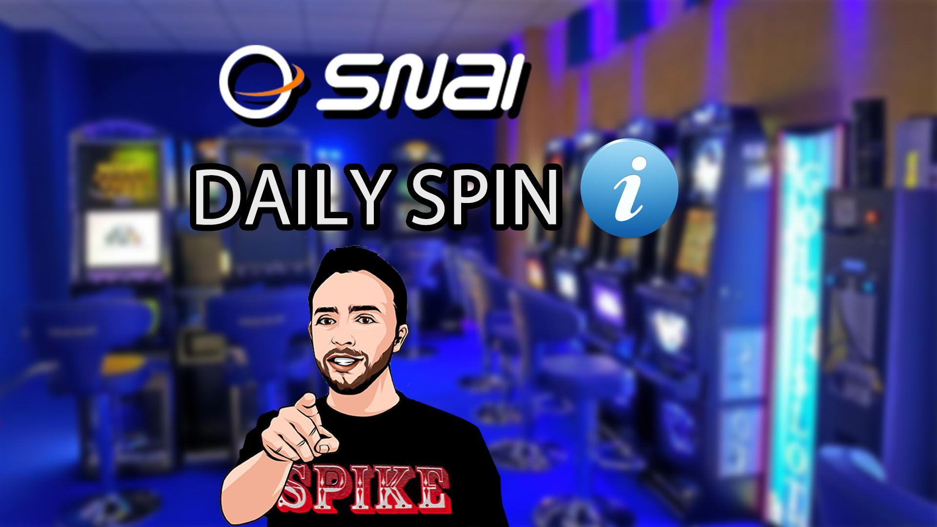 Card Articolo Snai Daily Spin SPIKE